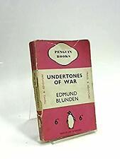 Undertones of War by Blunden, Edmund