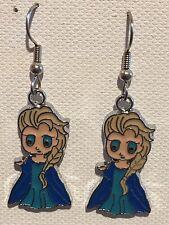 Elsa Earrings Disney Surgical Hook New Frozen