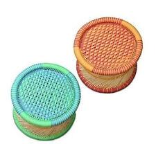 handicraft stool/Mudha use for garden/balcony/home decorative theme set of 2