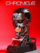Terminator Genisys 1:1 Life Size Endoskull Chronicle Sideshow Endoskeleton Skull