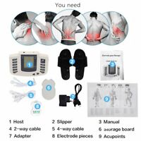 Electrical Muscle Relax Stimulator Massager Tens Acupuncture Therapy Machine**