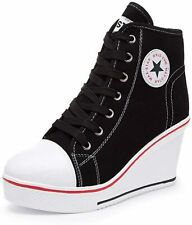 Canvas High Heel Sneakers products for