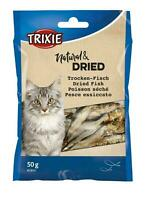 Cat Treats Dried Fish Anchovies High Protein Natural Snack for Cats 50g