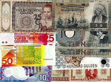 More details for netherlands banknotes - nederlandsche bank, replacement, state note etc vf- unc