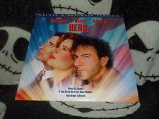 Hero Widescreen Laserdisc LD Dustin Hoffman Geena Davis Free Ship $30 Orders