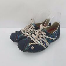 Rieker Size 39 Sneakers Womens Flower Floral Shoes Lace Up Walking US 8