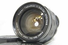 Pentax Super-Takumar 24mm F/3.5 MF Wide Angle Lens SN3731246 for M42 Mount