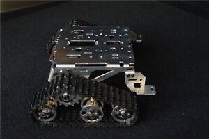 US Metal Robot Tank Crawler Chassis DIY For Arduino Experiment Smart Car