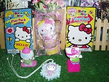 HELLO KITTY STICKERS & ACTION FIGURES - LOT OF 6