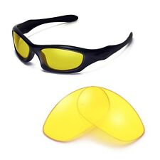 Sure Polarized Yellow Night Vision Replacement Lenses for Oakley Monster Dog