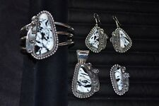 Handmade Sterling Silver 4 Piece Set