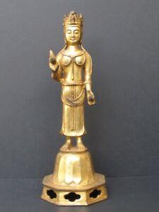 Bodhissatva Bronze Golden Chinese