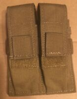TAC SHIELD DOUBLE PISTOL MOLLE POUCH SNGL DBL STACK T3602CY Coyote
