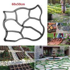 Garden DIY Path Maker Mold Driveway Paving Stone Concrete Pavement Mould Paver