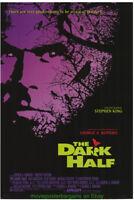 THE DARK HALF MOVIE POSTER Original 27x40 Steven King Horror GEORGE ROMERO