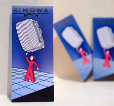 #4781 Rimowa Suitcase Retro Art Promotion Luggage Tag Label 4x9cm Decal Sticker