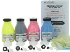 BROTHER DCP 9020CDW - 4 x Kits de recharge toner compatibles Noir, Cyan, Jaune,