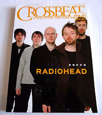 Radiohead Crossbeat File Vol.10 Japan Book 2008 Shinko Music Tom Yorke (r)