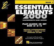 Hal Leonard Ee2000 Play Along Trax 3-Cd Set ~ Baritone ~ Euphonium