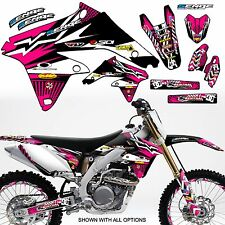 2001 2002 2003 2004 SUZUKI RM 85 GRAPHICS KIT RM85 DECO DECALS STICKERS MOTO