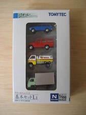 Tomytec - ref.253068 - 2 coches y 2 camiones