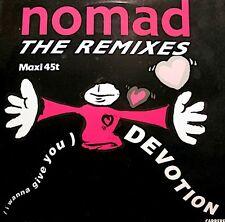 ++NOMAD devotion (3 versions) MAXI 1991 CARRERE RARE EX++