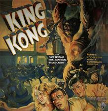 King Kong Fay Wray 1933 Vintage movie poster item 3