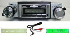 1969-1972 Chevy Chevelle El Camino Radio Free Aux Cable Included Stereo 230 **