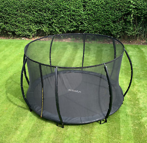 8-10-12FT in ground trampoline by Active-fun now with added safety net uk stock