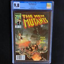 New Mutants #22 💥 CGC 9.8 - SINGLE HIGHEST 💥 75 CENT CANADIAN PRICE VARIANT