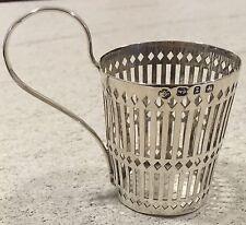 Hallmarked 1899 William Hutton tea glass holder éventuellement liberty argent antique