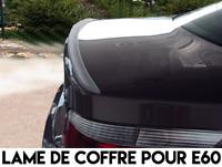 LAME COFFRE SPOILER BECQUET LEVRE AILERON pour BMW E60 SERIE 5 2003-10 530d 550i