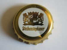BEER Bottle Crown Cap ~ WEIHENSTEPHANER ~ Oldest Brewery in the World; Freising