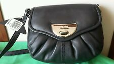 Ladies Handbag CELLINI Leather BLACK New w store tags rrp $139