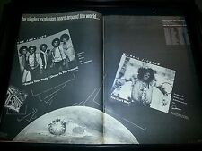 The Jacksons Shake Your Body Michael Jackson You Can't Win Rare Promo Poster Ad