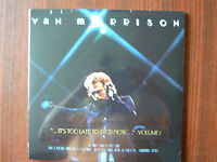 Van Morrison It's Too Late to Stop Now .. Vol.ILive In Concert 1973 2 LP NEW-OVP
