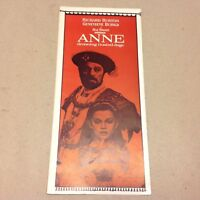 """Anne of the Thousand Days"" Richard Burton 1969 Danish Original Movie Program"