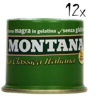 12x Montana carne classica Rindfleisch in Aspik 90 g 100% Italienisch Fleisch