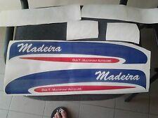 Adesivi motore marino fuoribordo Selva Madeira 40hp gommone barca stickers