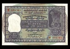 Republic India | 100 Rupees | 1962-67 | P C Bhattacharya | P-45 | Uncirculated