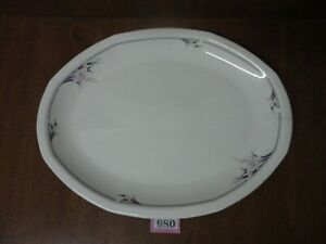FREEPOST Large 16 inch Oval Meat Serving Platter / Plate - Royal Doulton NIMBUS