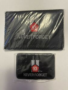 5.11 Tactical Patch 9/11 Memorial and 9-11 Memorial Wallet NEW 2 items 1 Price!!
