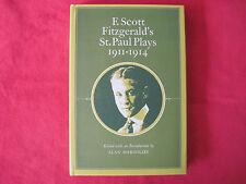 F. SCOTT FITZGERALD'S PLAYS - 1ST ED -1978 WAREHOUSE FIND - MINT HARDCOVER IN DJ