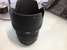 Sigma EX 85mm f/1.4 HSM DG EX Lens For Nikon W/ Hood + Cap