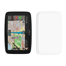 2X Transparente LCD Protector de Pantalla Seguro para Tomtom Go 620 - Brillo