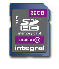 Integral INSDH32G10V1 SDHC Class 10 32GB Memory Card up to 30MB/s