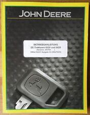 John Deere Traktoren 6520 , 6620 Betriebsanleitung