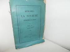 Mémoires Antiquaires de l'Ouest 1893, Chatellenie de Chouppes en Mirebalais...