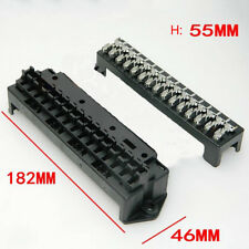 15 Way Black Car Seat Medium Relay Fuse Box Assembly with 30pcs Terminals Car