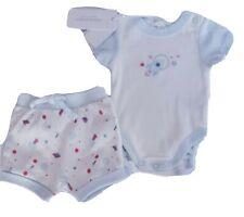 DAVID JONES Romper & Shorts Gift Set Size 0000 Infant Newborn Baby NEW RR$44.95